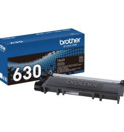 brother tn630 standard yield black toner cartridge [ 2000 x 2000 Pixel ]
