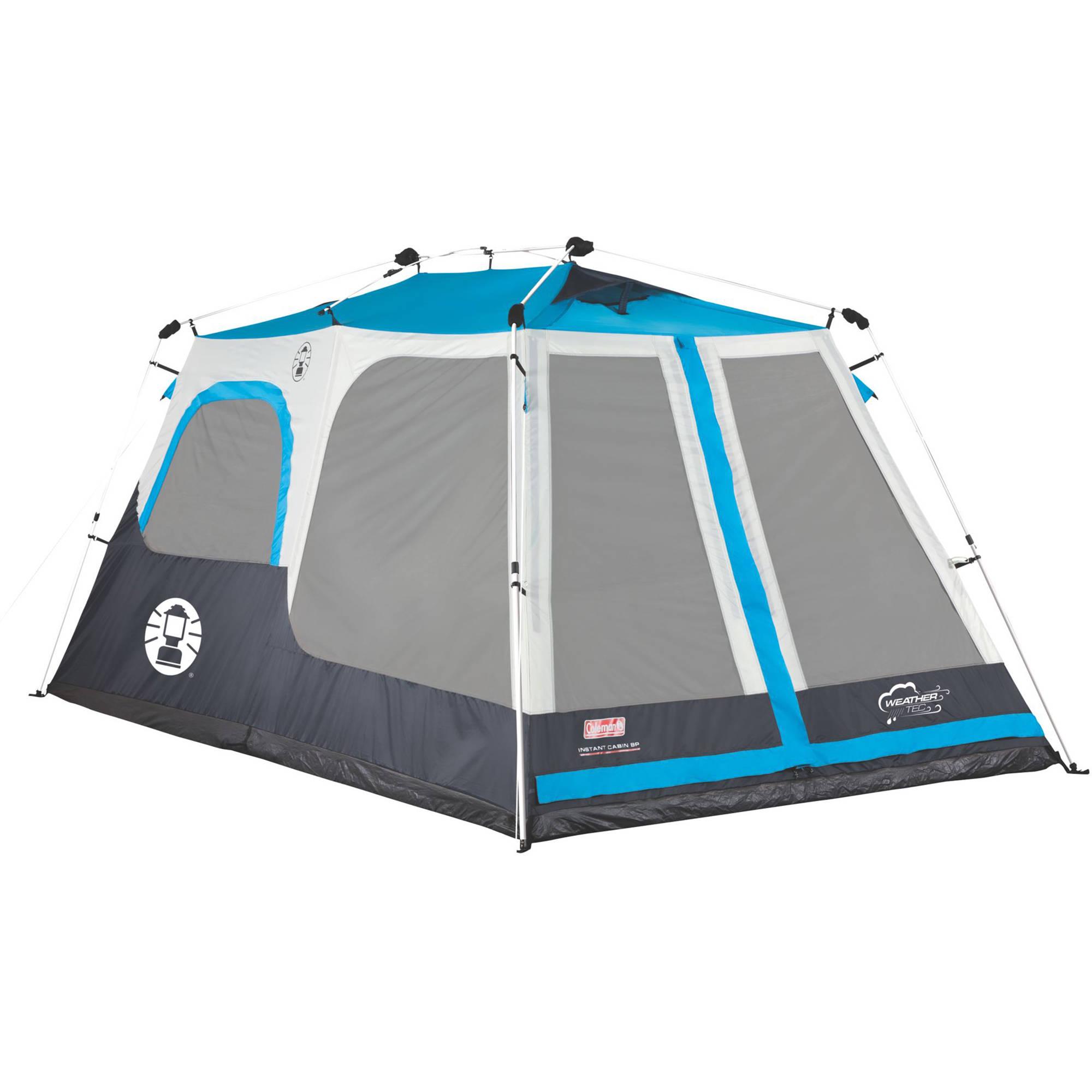 Coleman Instant Cabin Tent (8