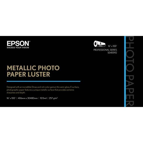 Epson Metallic Paper Luster S045592 & Video