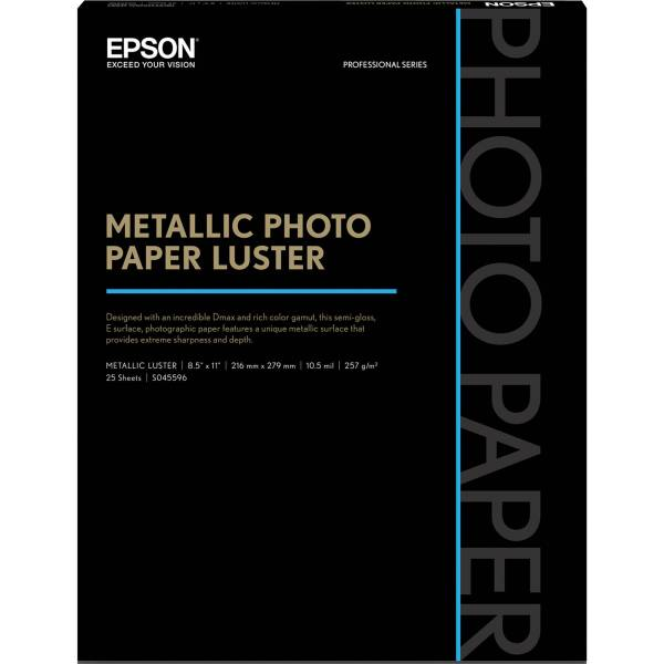 Epson Metallic Paper Luster S045596 & Video