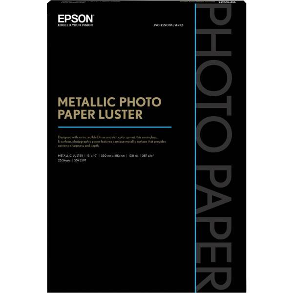 Epson Metallic Paper Luster S045597 & Video