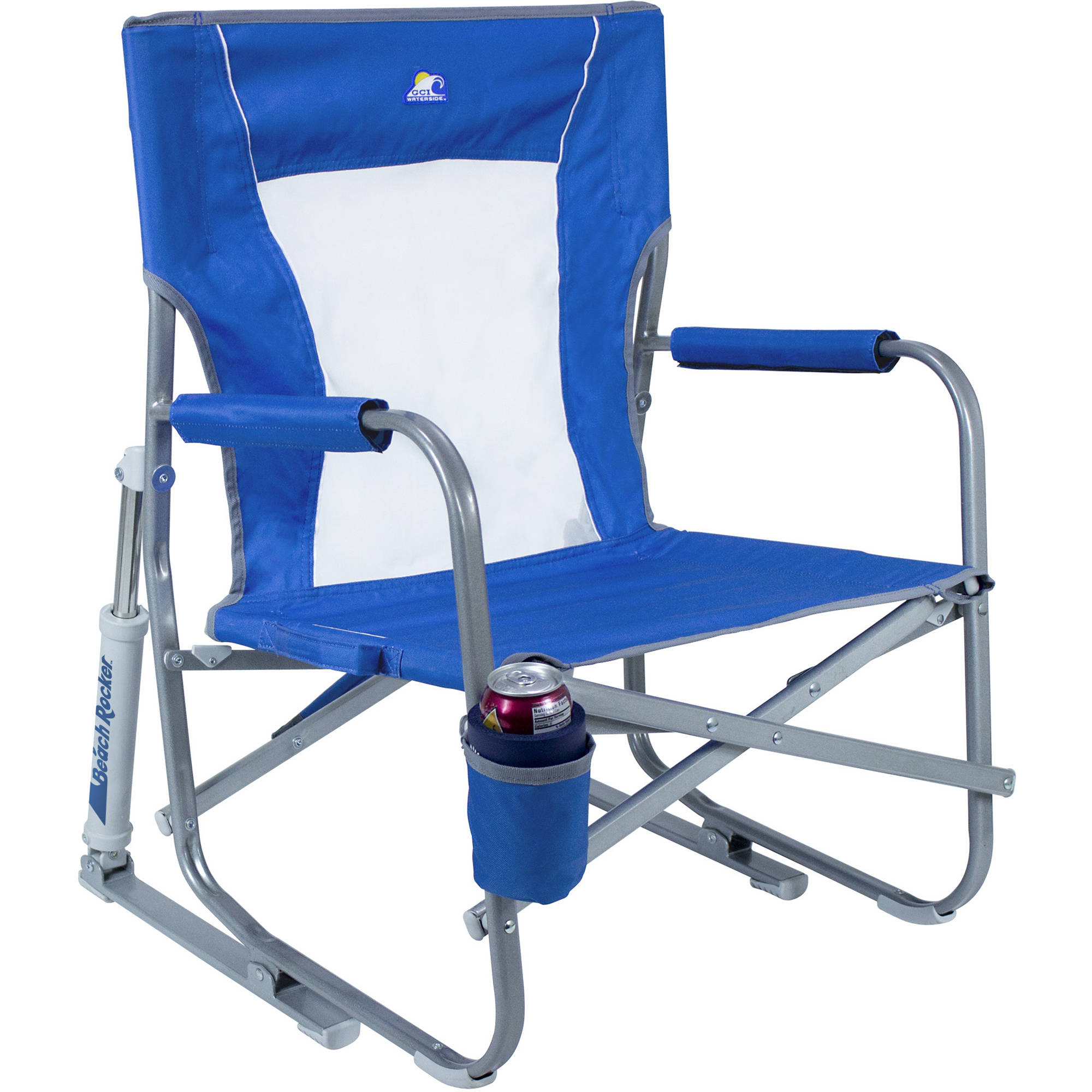 outdoor folding rocking chair cover rental detroit gci beach rocker saybrook blue