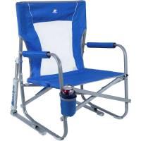 GCI Outdoor Beach Rocker Folding Chair (Saybrook Blue ...