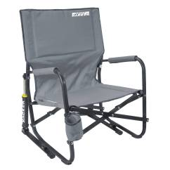 Outdoor Folding Rocking Chair Cheap Black Covers For Sale Gci Firepit Rocker Mercury Gray 60565 B Andh Photo