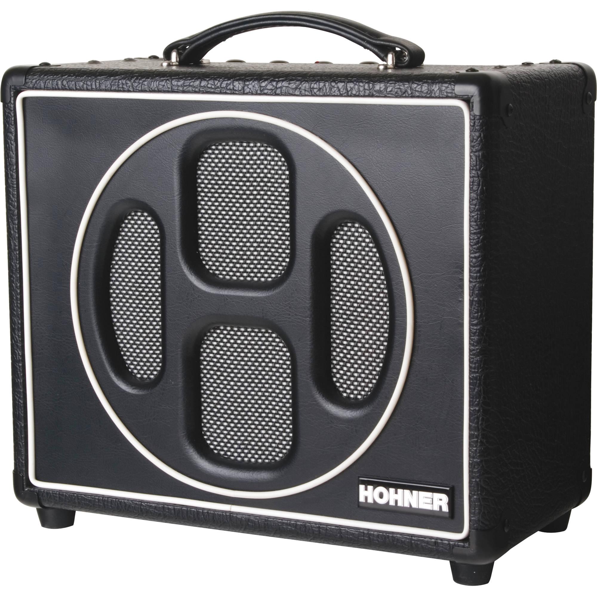 Hohner Hoodoo Box 5w Harmonica Tube Amp Hhb5t B Amp H Photo Video