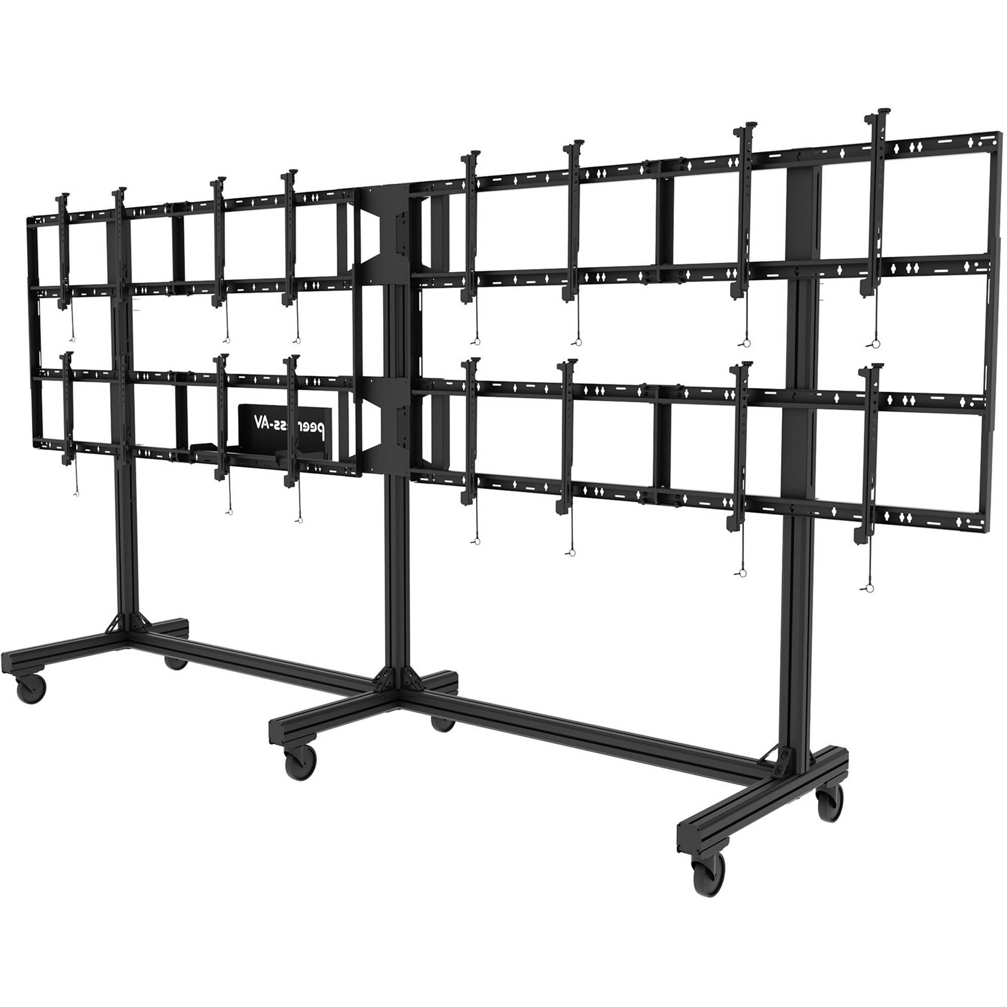 Peerless Av Portable Video Wall Cart For 46 To Ds C555 4x2 B Amp H