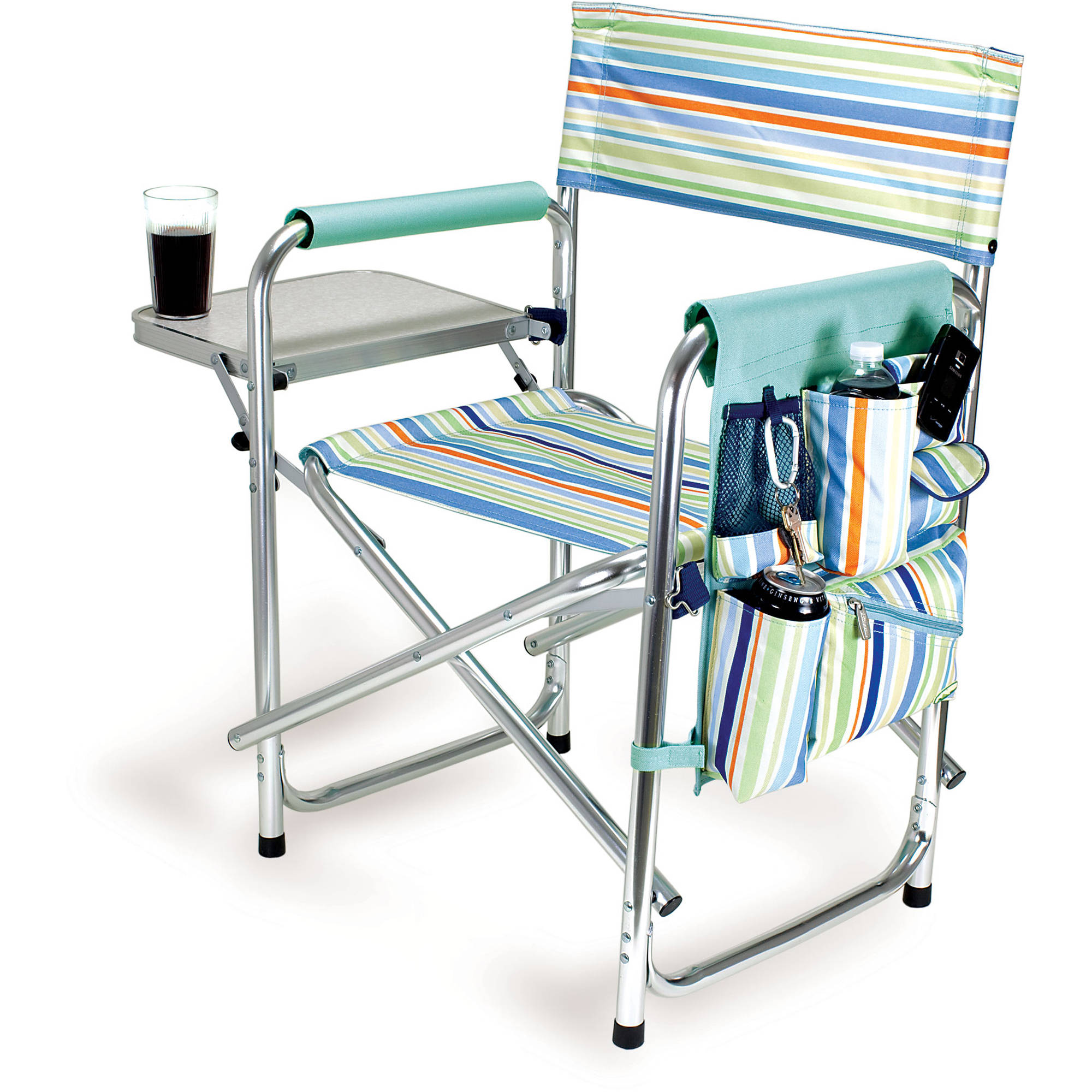 picnic time folding chair dining table with storage sports st tropez 809 00 991 000 b andh
