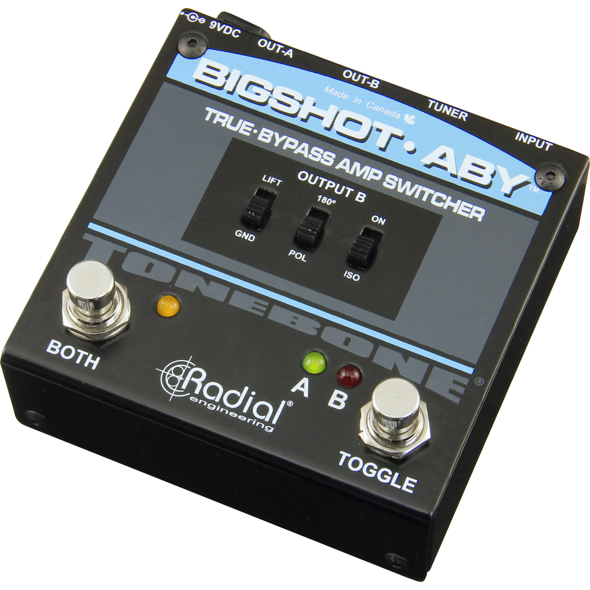 Radial Engineering Bigshot Aby True Bypass R800 00 B Amp H