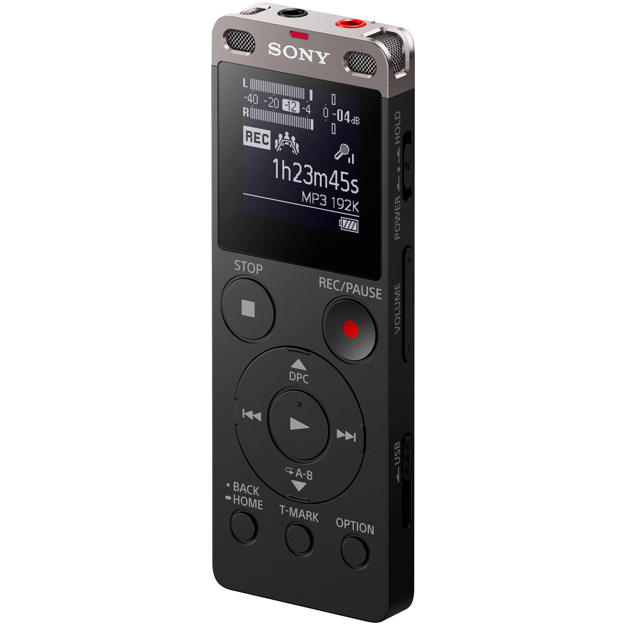 Sony ICD-UX560 Digital Voice Recorder with Built-In