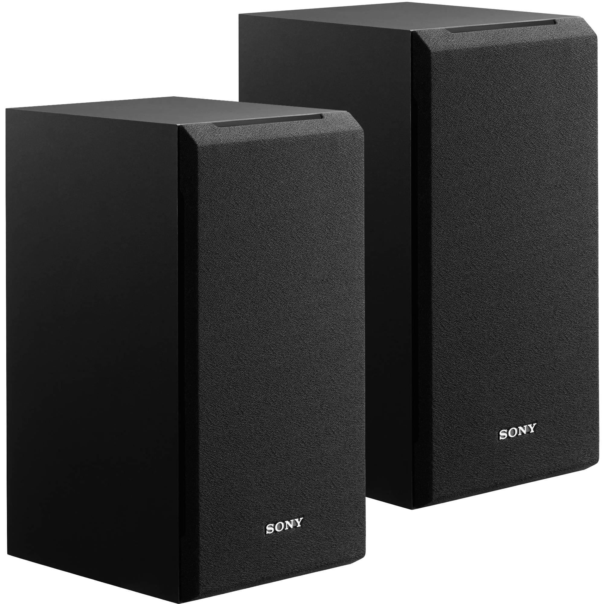 hight resolution of sony ss cs5 3 way bookshelf speaker pair ss cs5 b h photo video wiring speaker pair stereo bookshelf speakers home speakers