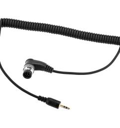 vello 2 5mm remote shutter release cable for nikon 10 pin cameras [ 2000 x 2000 Pixel ]