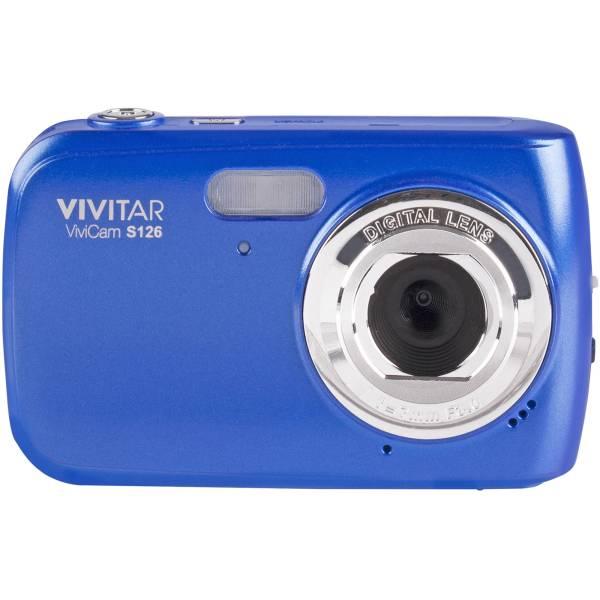Vivitar Vivicam S126 Digital Camera Blue Vs126-blu &