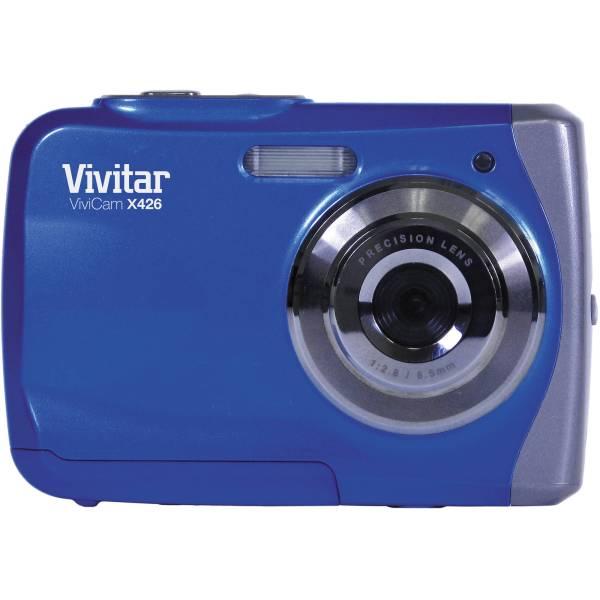 Vivitar Vivicam X426 Waterproof Digital Camera Blue Vx426-blu