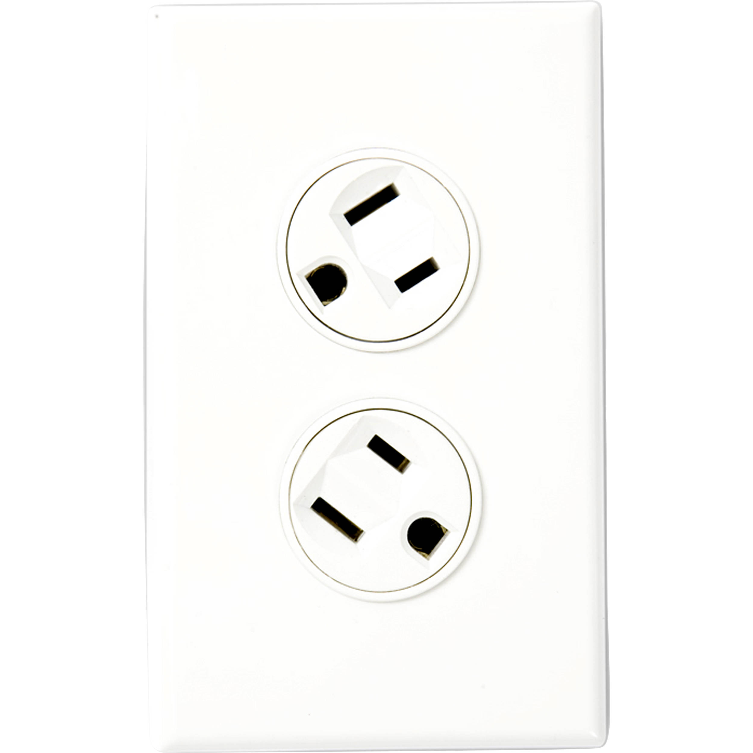 360 Electrical Rotating Duplex Outlet White W B Amp H Photo