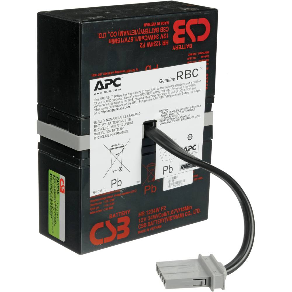medium resolution of apc replacement battery cartridge 33