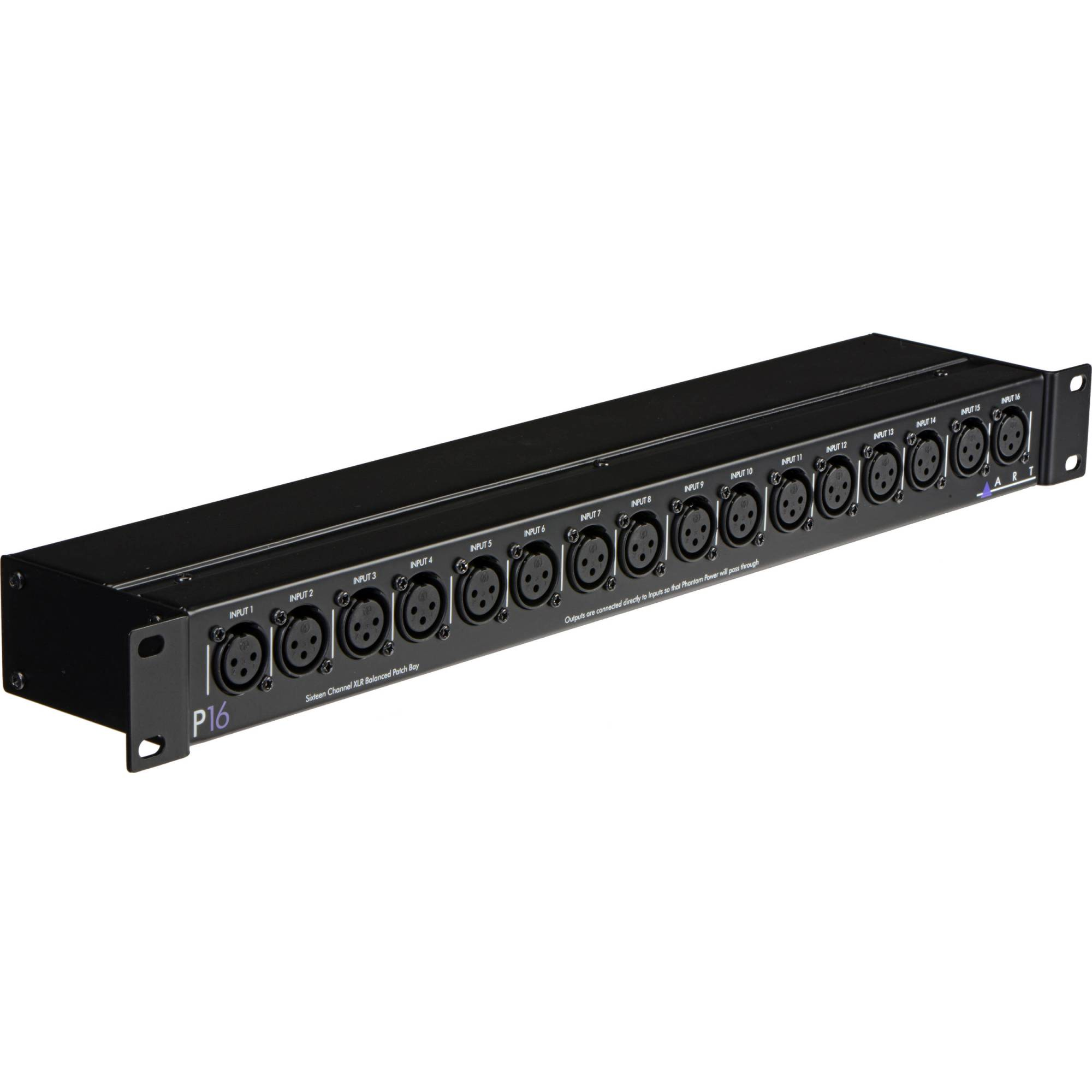 hight resolution of art p16 rackmount balanced xlr patch bay p16 b u0026h photo video wiring