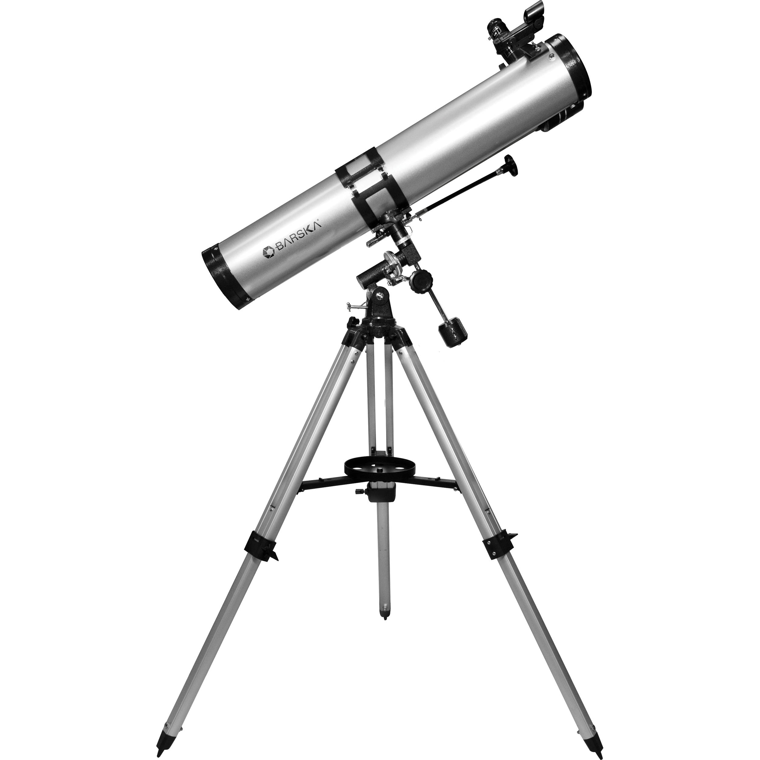 Barska Starwatcher 114mm f/7.9 EQ Reflector Telescope AE10758