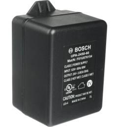 bosch upa 2450 60 24 vac power supply 50 va 60hz  [ 2500 x 2500 Pixel ]