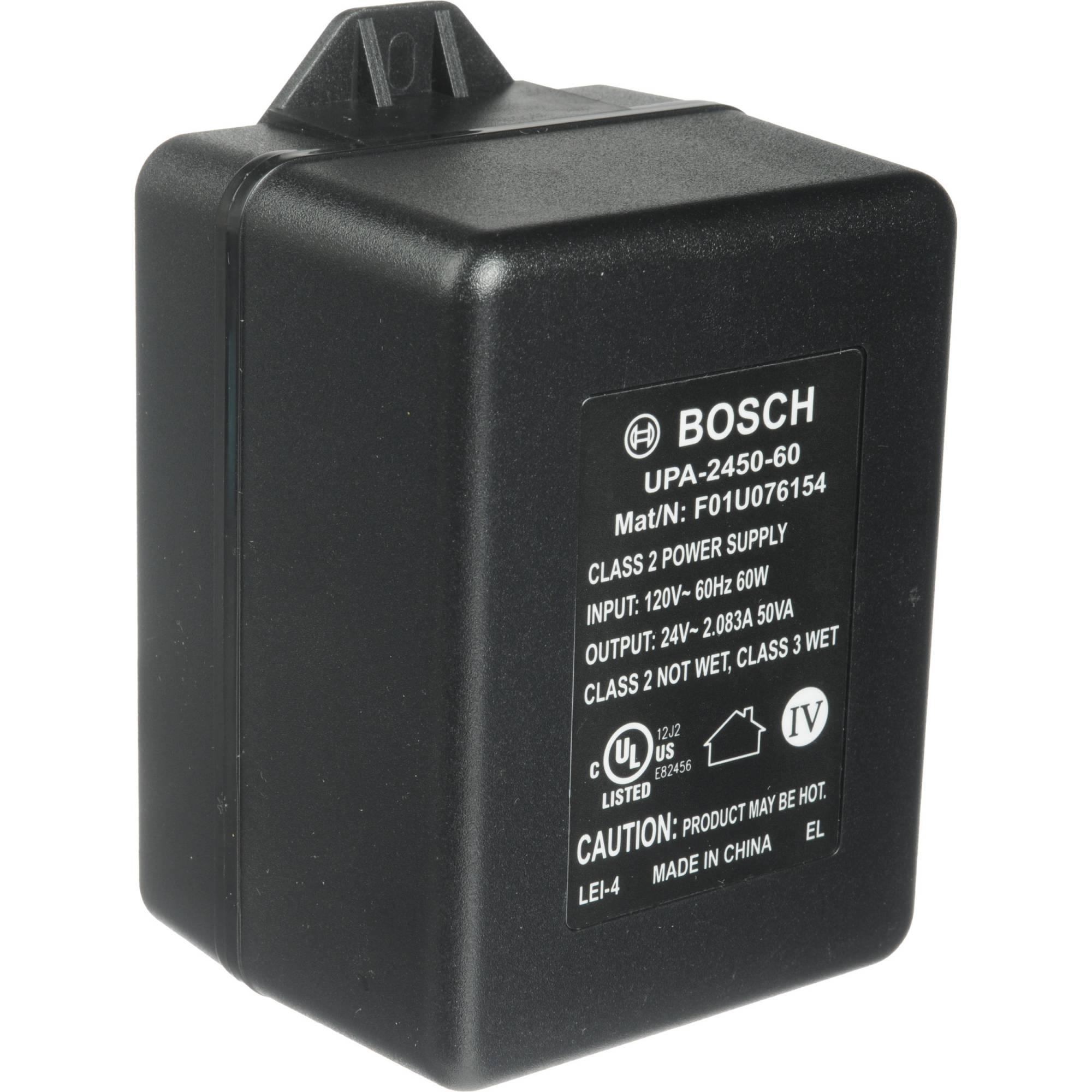 hight resolution of bosch upa 2450 60 24 vac power supply 50 va 60hz