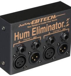 ebtech he 2 xlr dual channel hum eliminator with xlr connectors [ 2500 x 2500 Pixel ]
