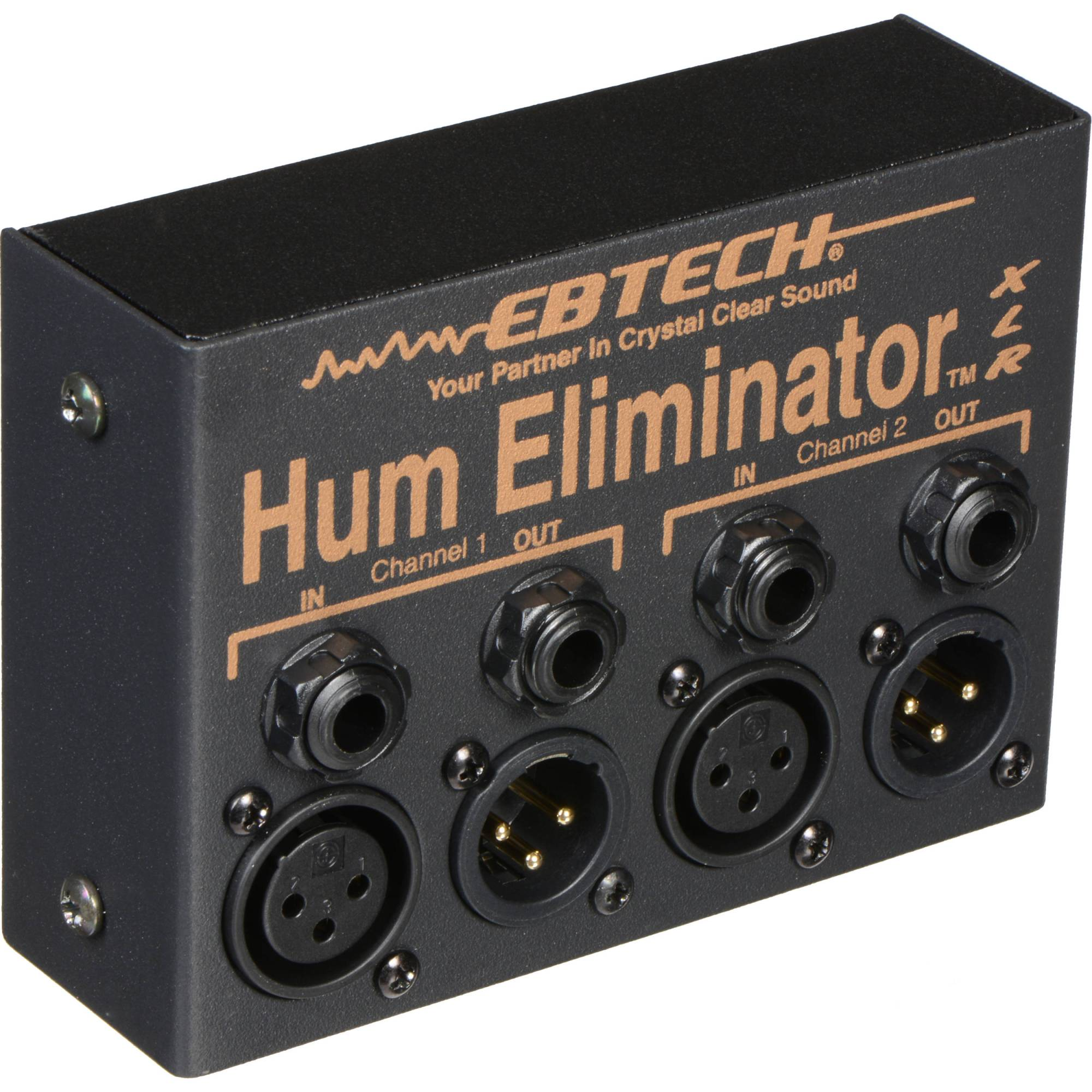 hight resolution of ebtech he 2 xlr dual channel hum eliminator with xlr connectors