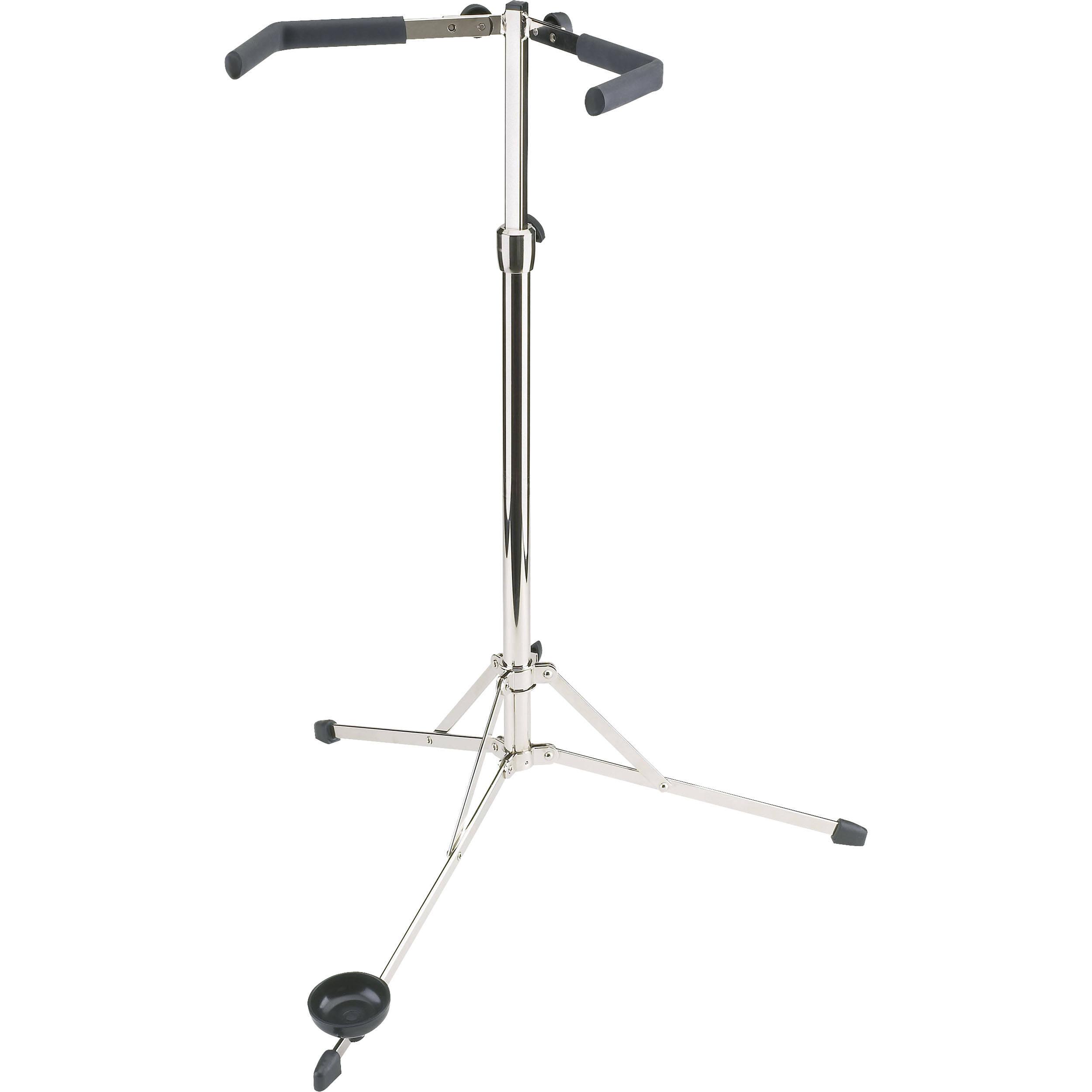 K&M 14100-000-02 141 Bass Stand (Chrome) 14100-000-02 B&H