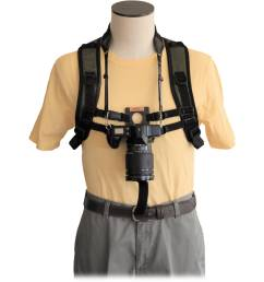 keyhole keyhole hands free camera harness black  [ 2500 x 2500 Pixel ]