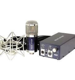 mxl revelation variable pattern tube condenser microphone [ 2500 x 2500 Pixel ]
