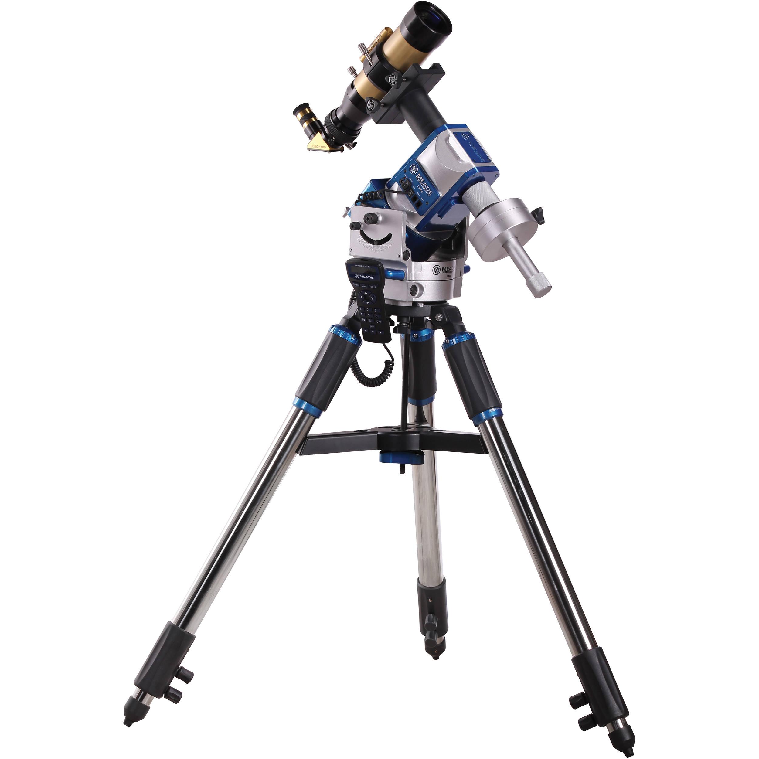 Meade 60mm Coronado SolarMax II Telescope SMT60-10-LX80 B&H