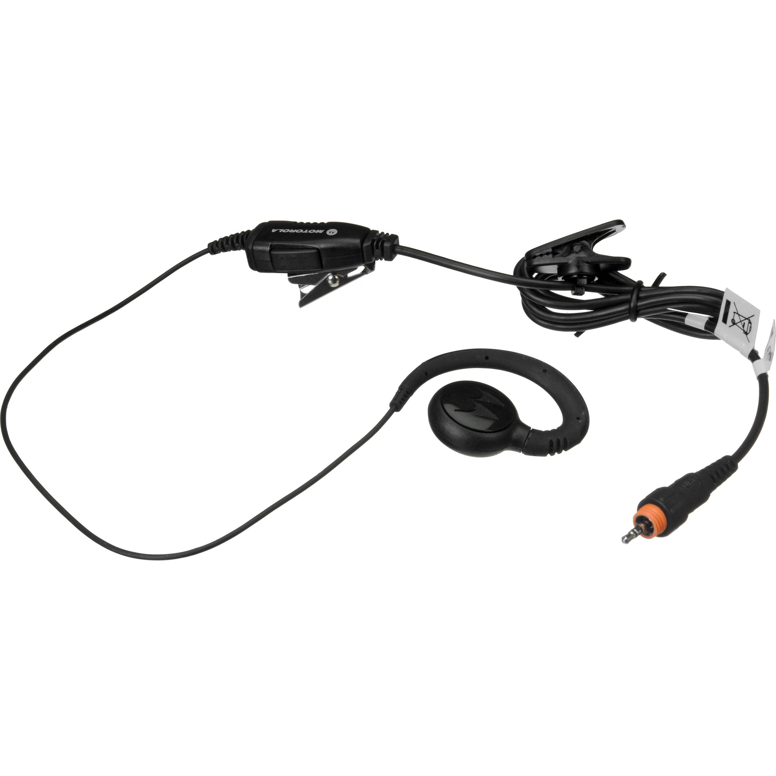Motorola HKLN4455A Lightweight Earpiece with Inline HKLN4455A