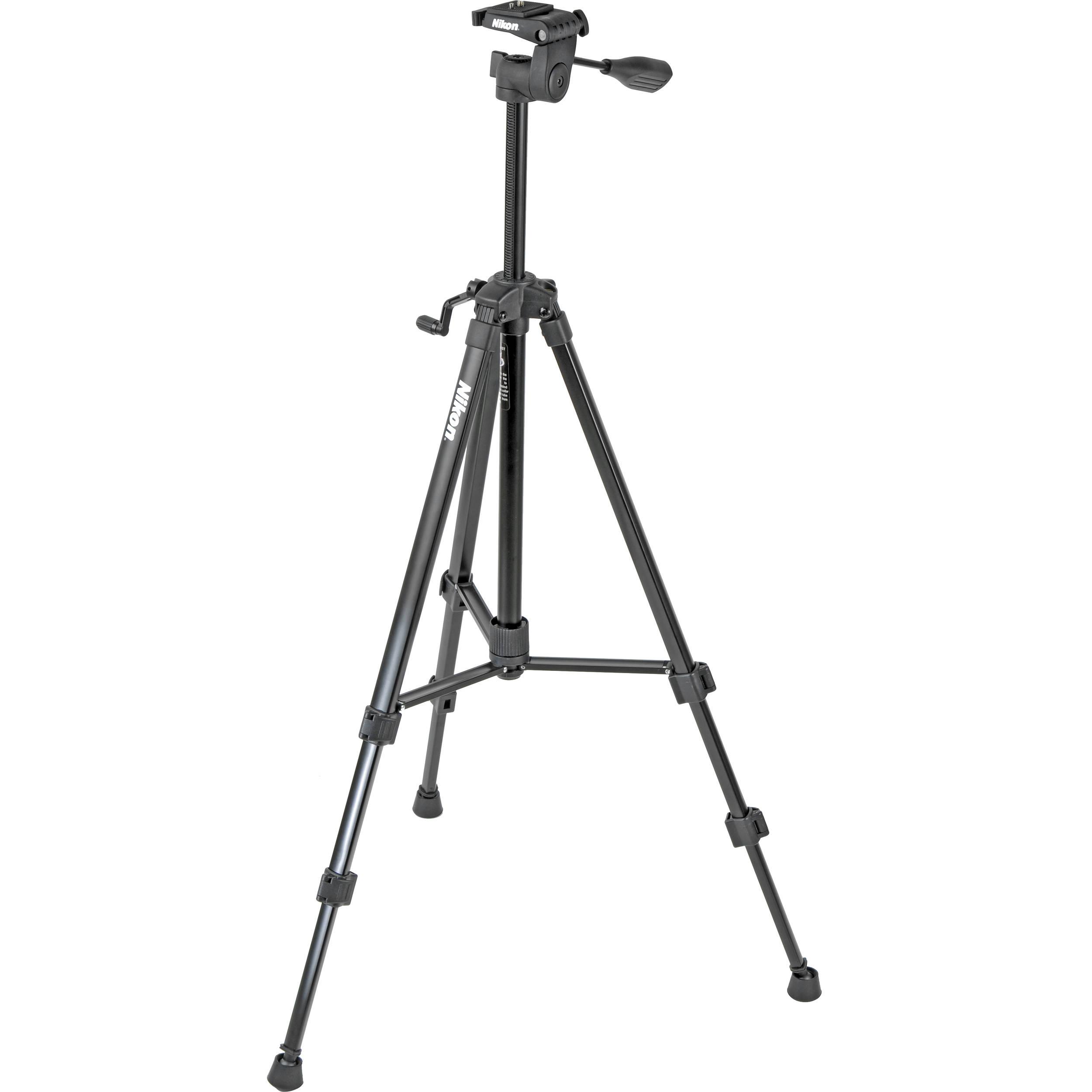 Nikon Full Size Tripod w/ Quick Release 3-Way Head (Black) 847