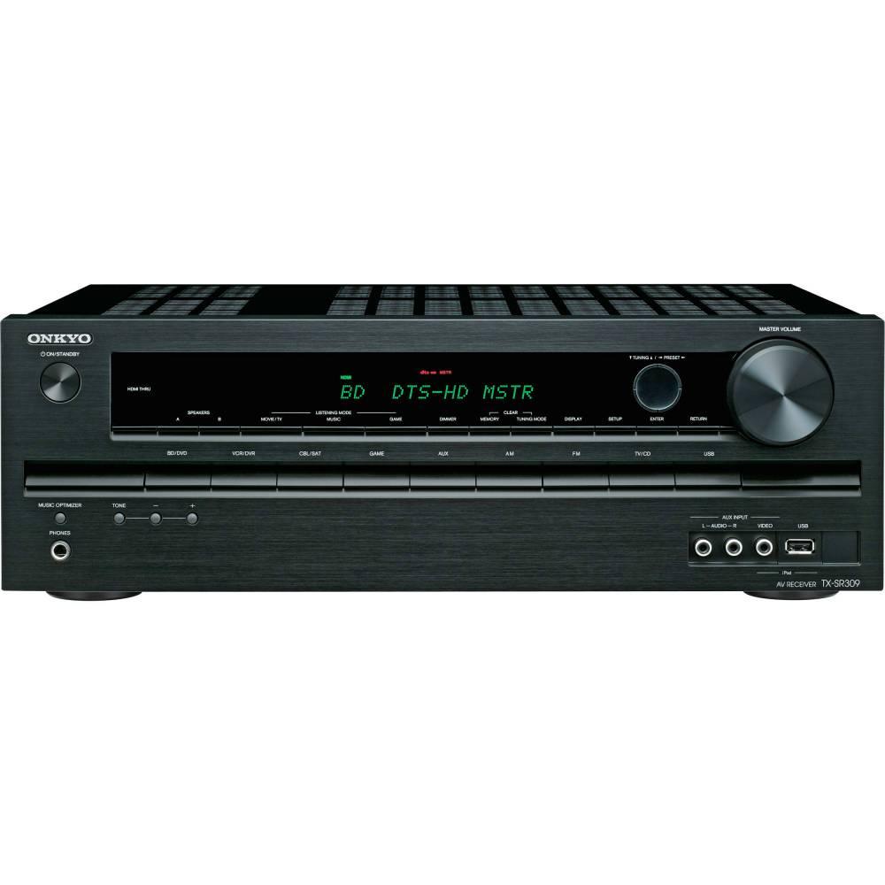 medium resolution of onkyo tx sr309 5 1 a v home theater receiver