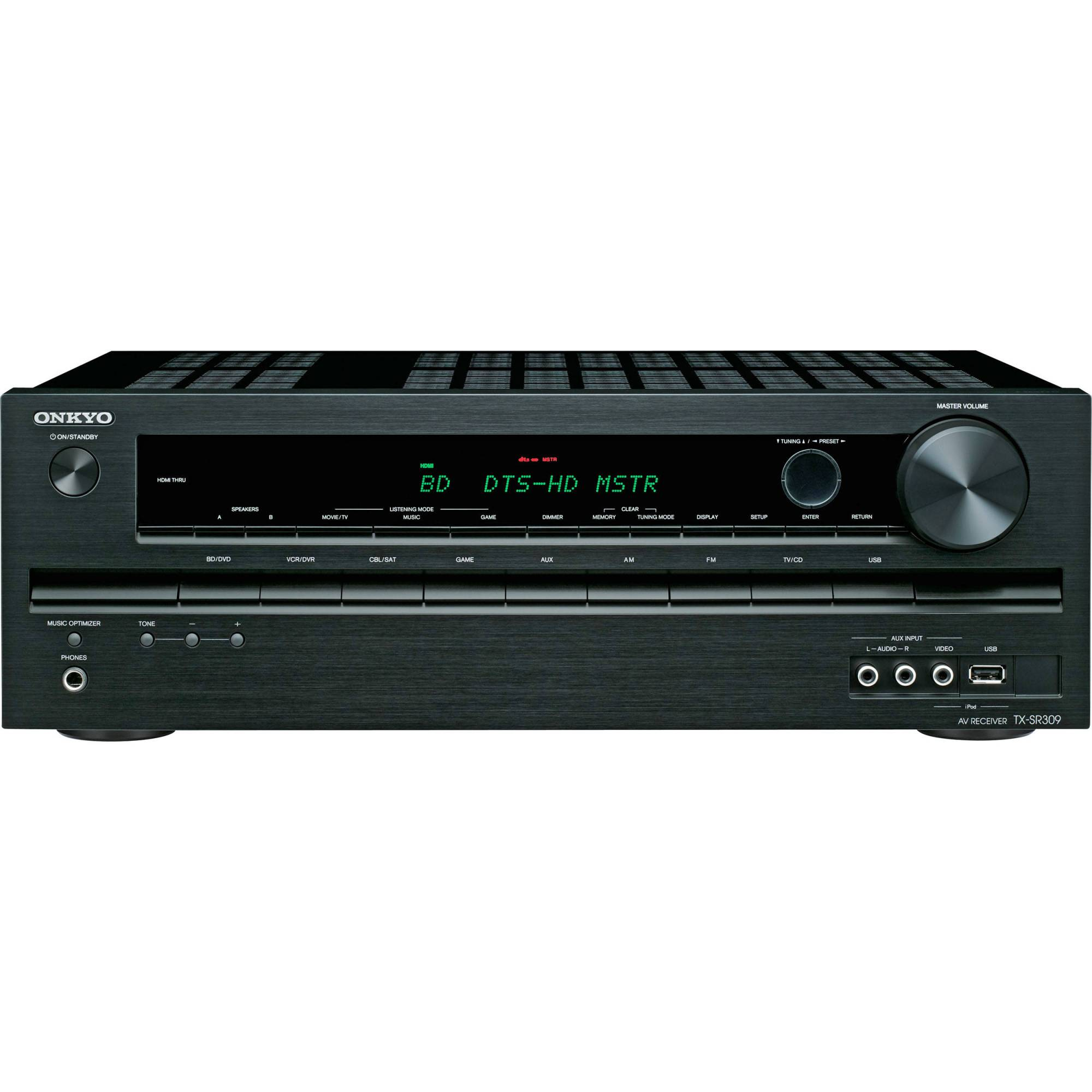 hight resolution of onkyo tx sr309 5 1 a v home theater receiver