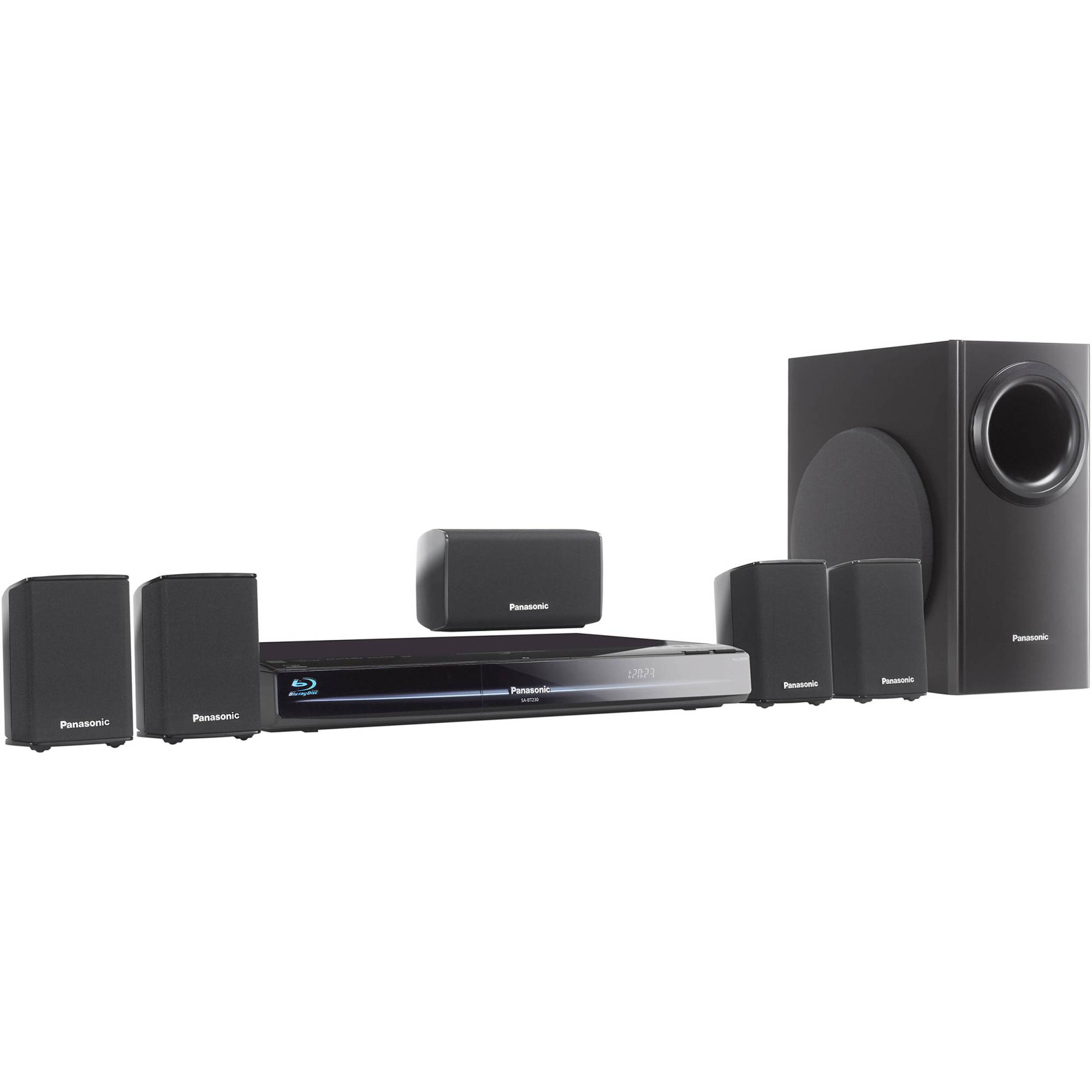 hight resolution of panasonic sc bt230 blu ray home theater system