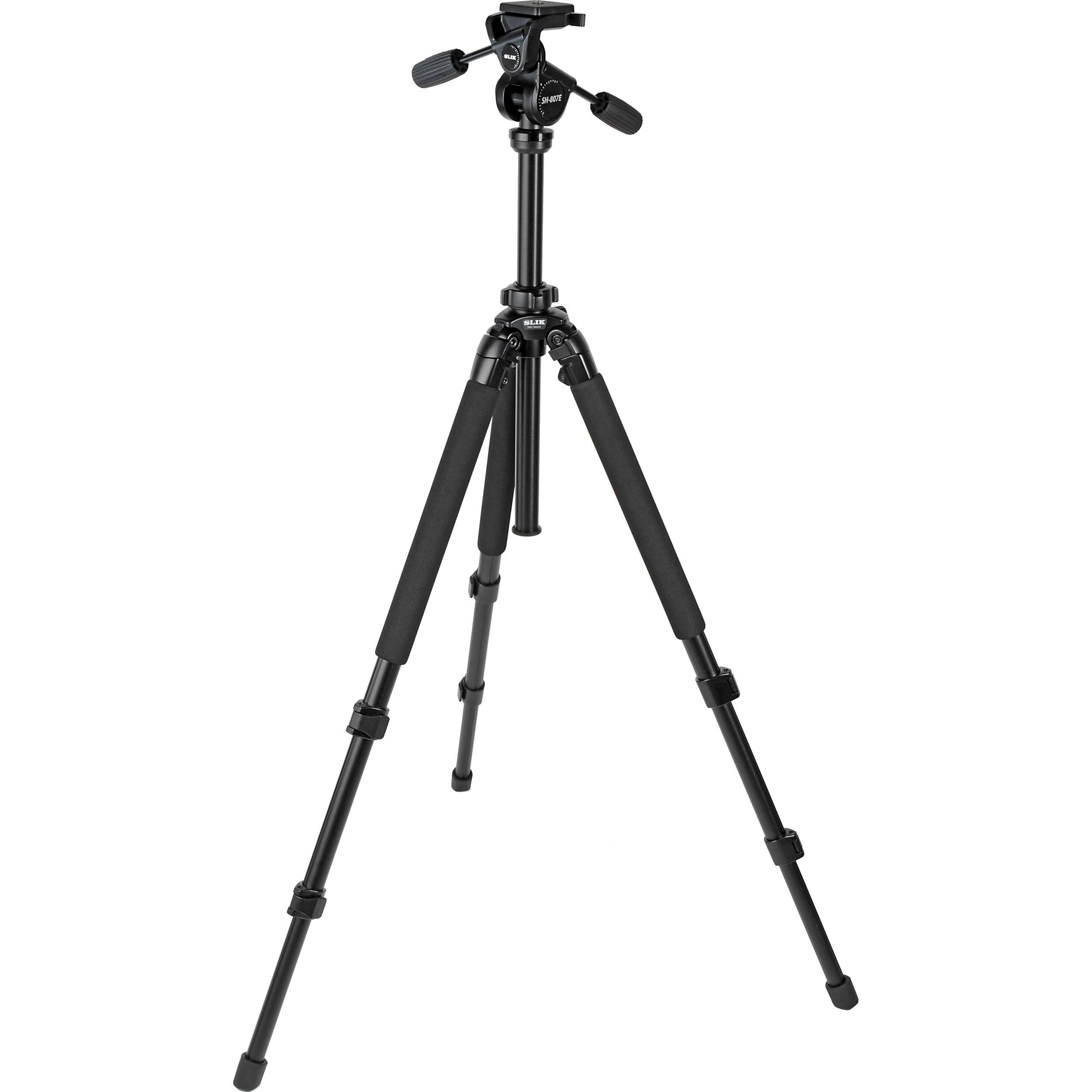 Slik Pro 780DX Tripod with 3-Way Head B&H Photo Video