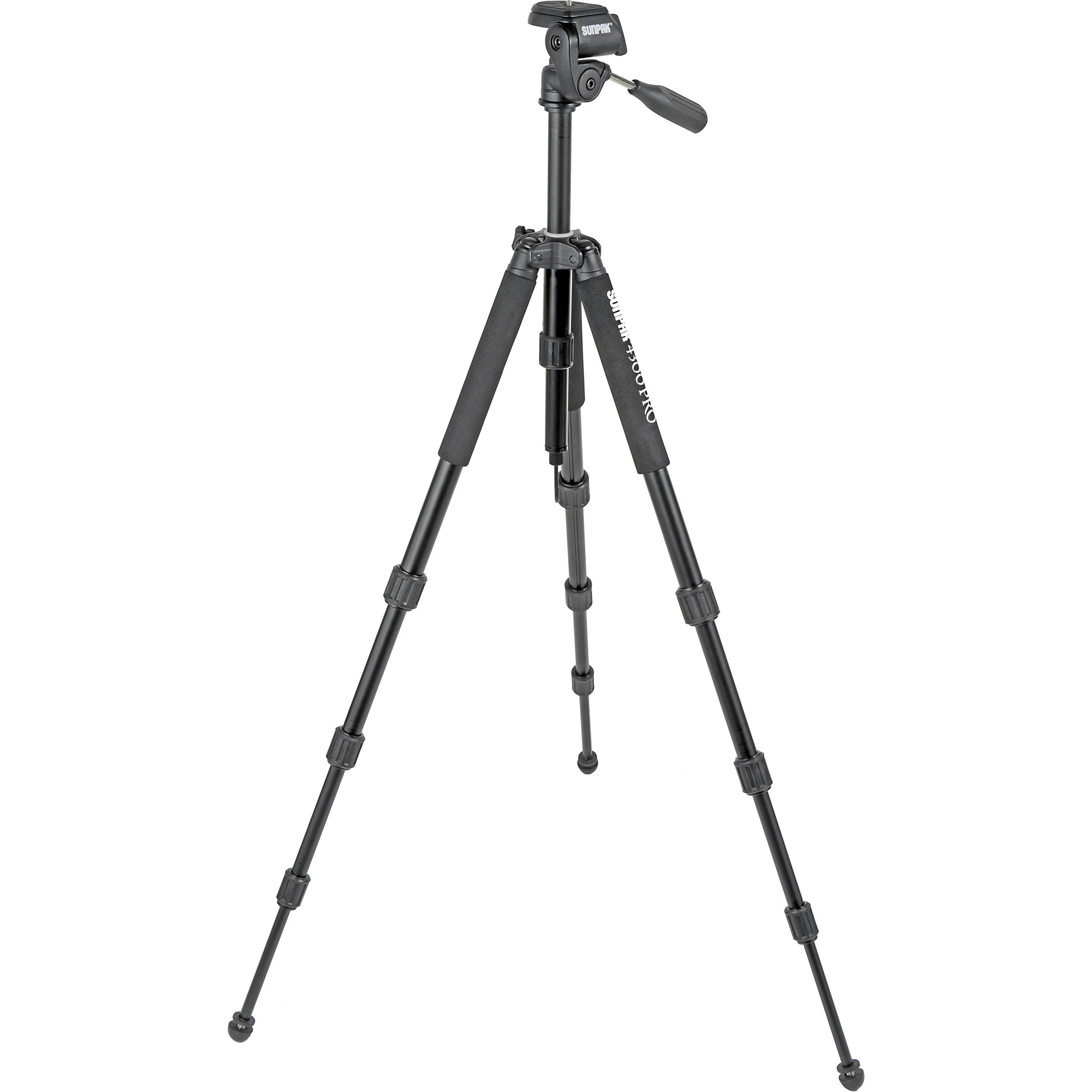 Sunpak 4300 Pro Tripod with 3-Way Pan/Tilt Head 620-430 B&H