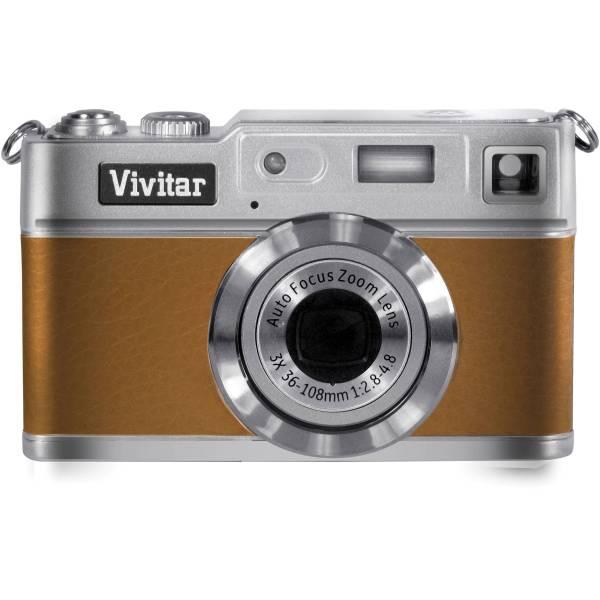 Vivitar Vivicam 8027 Digital Camera Brown 8027brown &