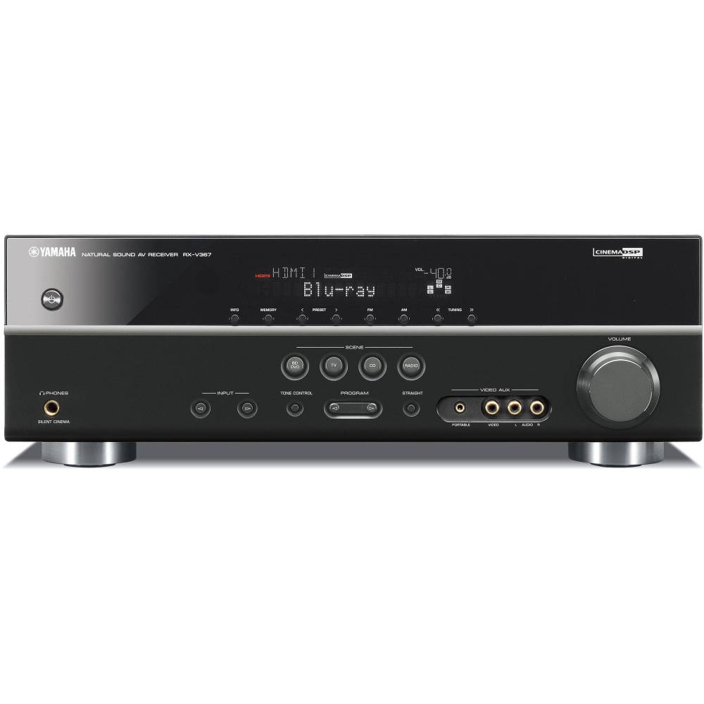 medium resolution of yamaha rx v367 5 1 channel home theater receiver