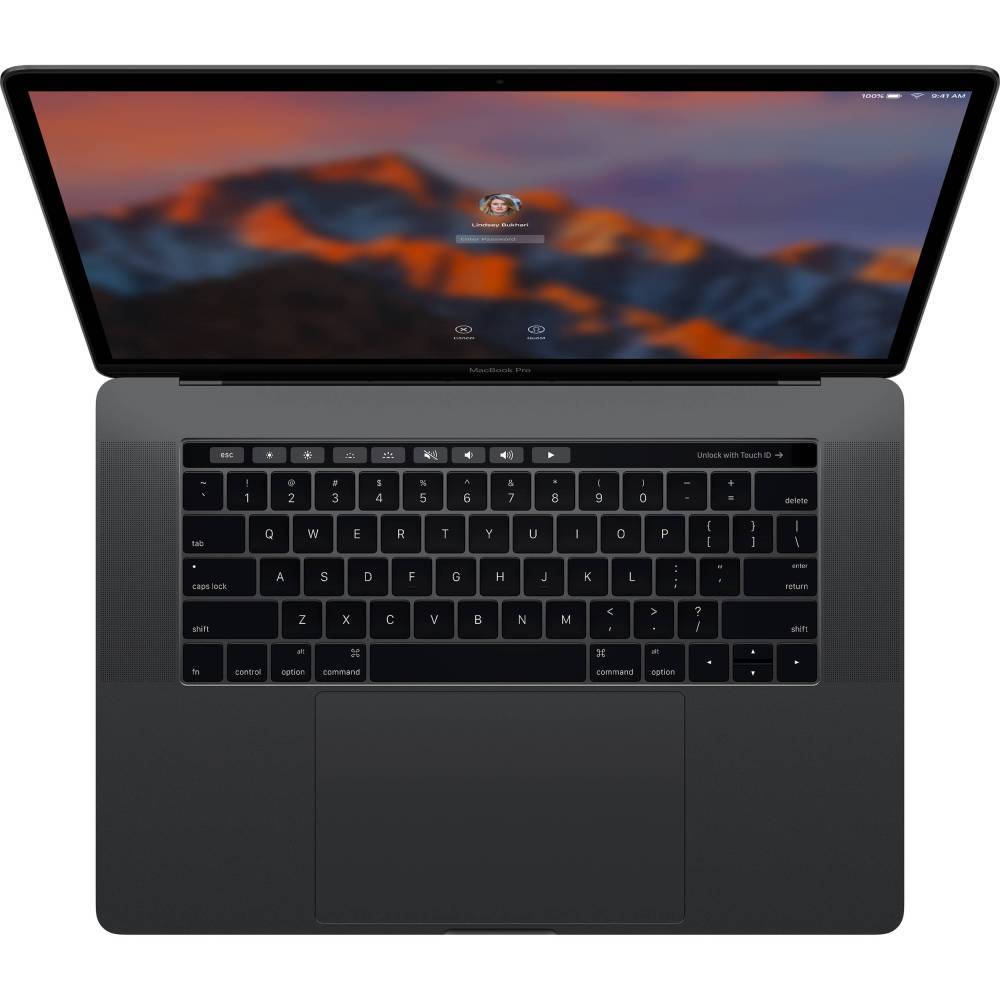 medium resolution of apple 15 4 macbook pro with touch bar late 2016