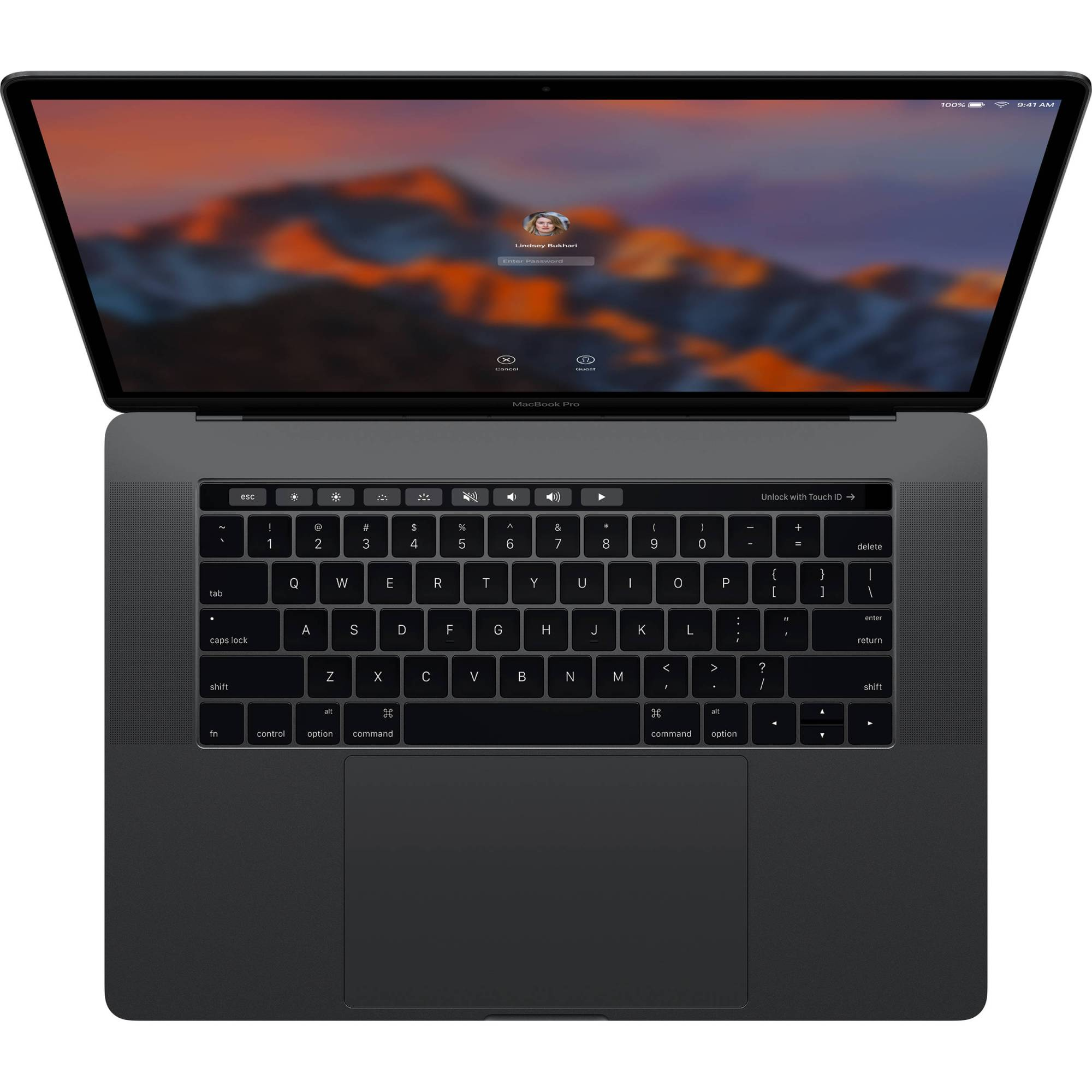 hight resolution of apple 15 4 macbook pro with touch bar late 2016