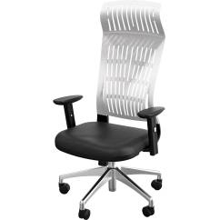 Office Chair With Adjustable Arms Ghost Ikea Balt Fly High Back 34748 B H White