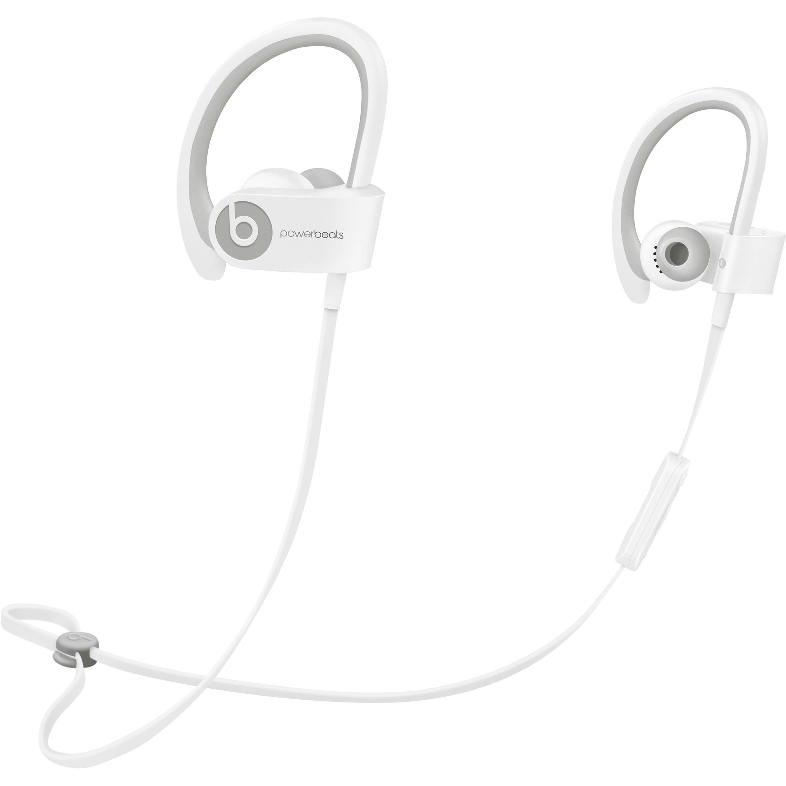 Beats By Dr Dre Powerbeats2 Wireless Earbuds White