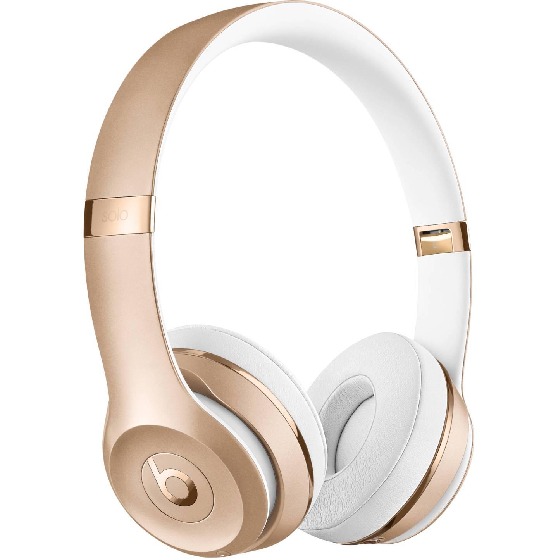 Gold Beats Solo3 Wireless