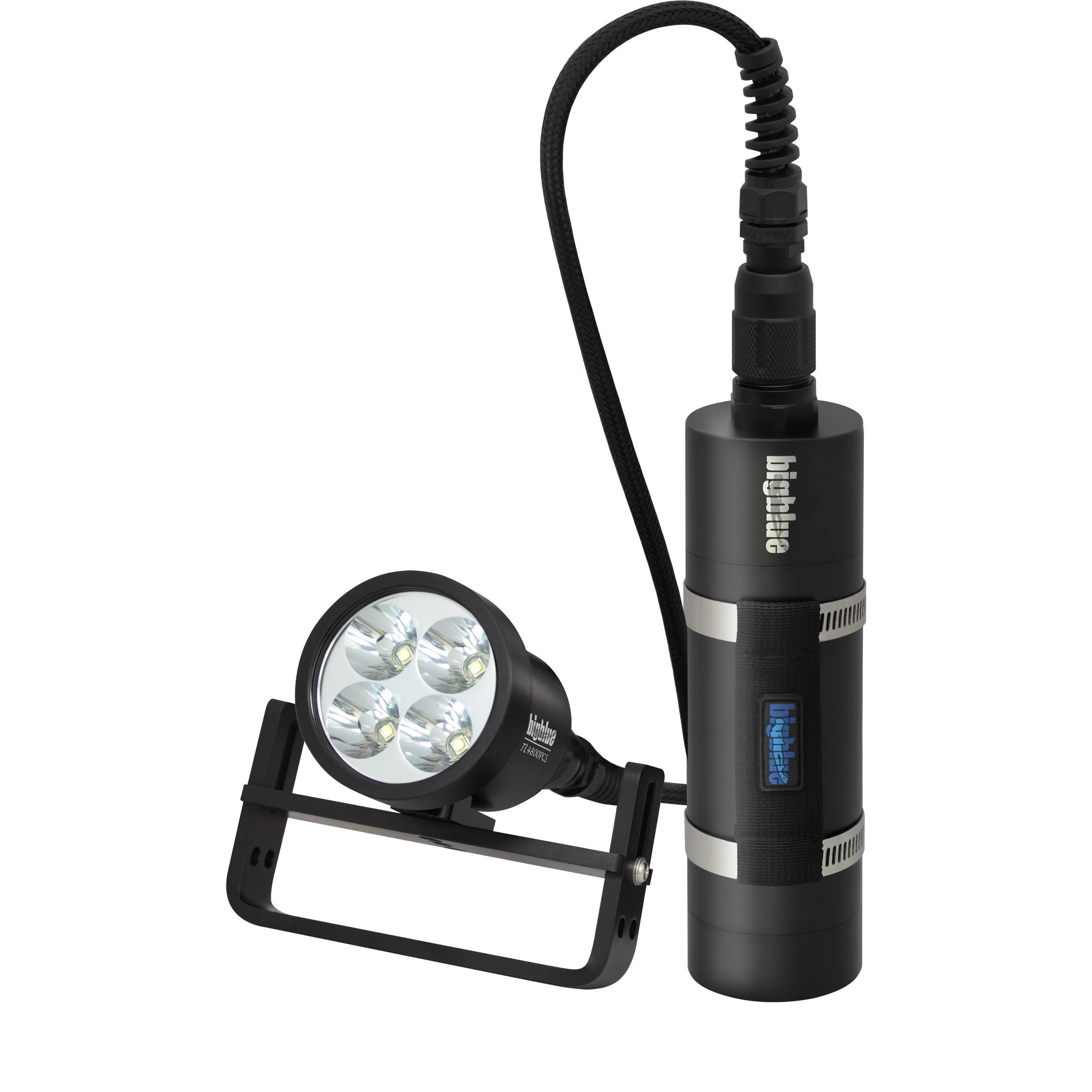 Bigblue TL4800PCSLIM Technical LED Dive Light TL4800PC