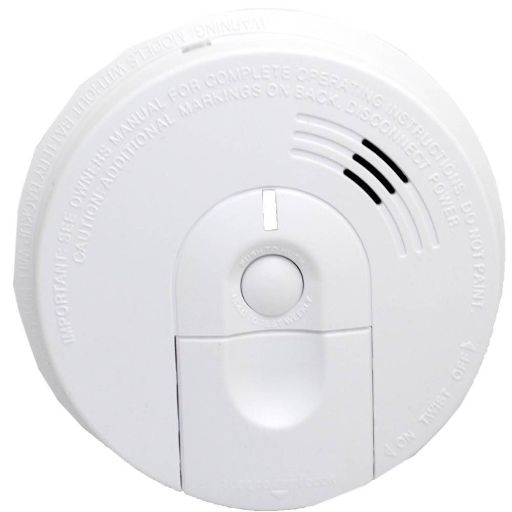 medium resolution of bush baby stealth hd wi fi hardwired smoke detector with side view camera