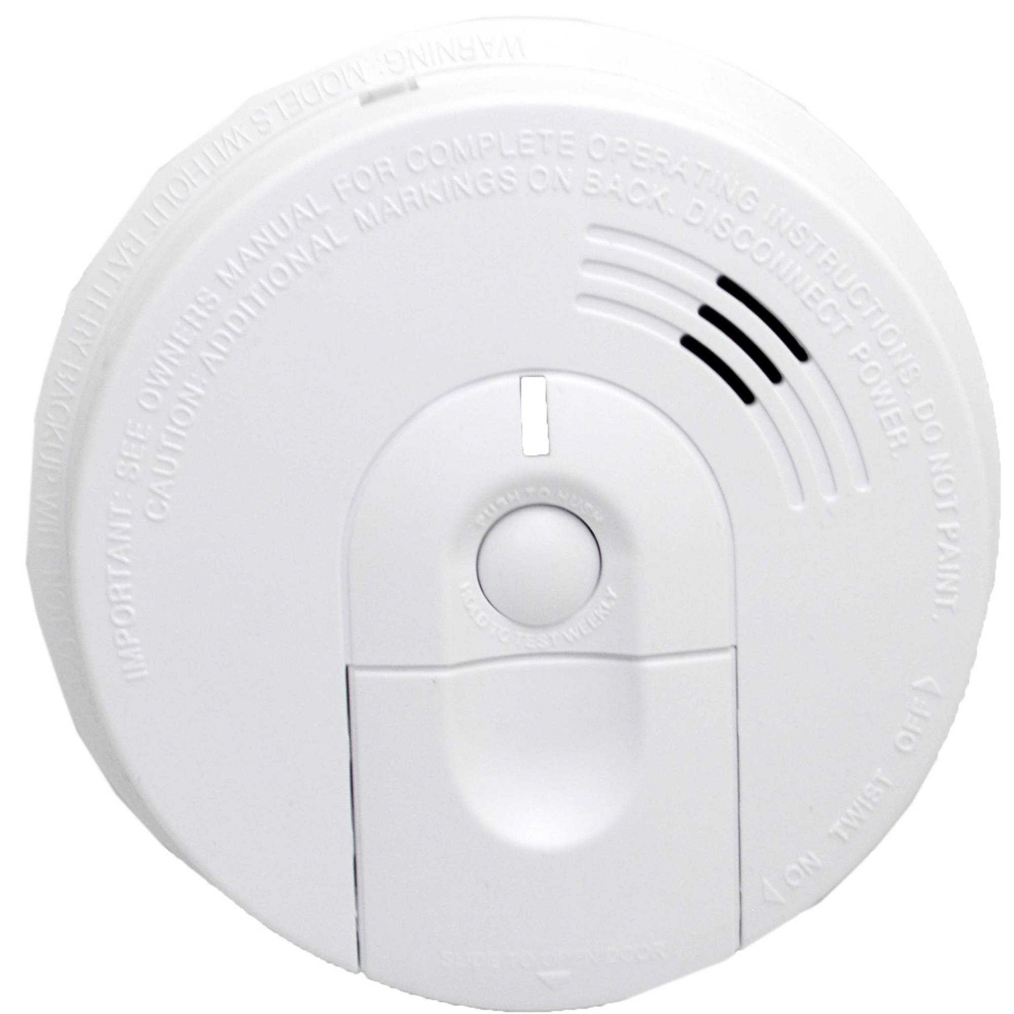 hight resolution of bush baby stealth hd wi fi hardwired smoke detector with side view camera