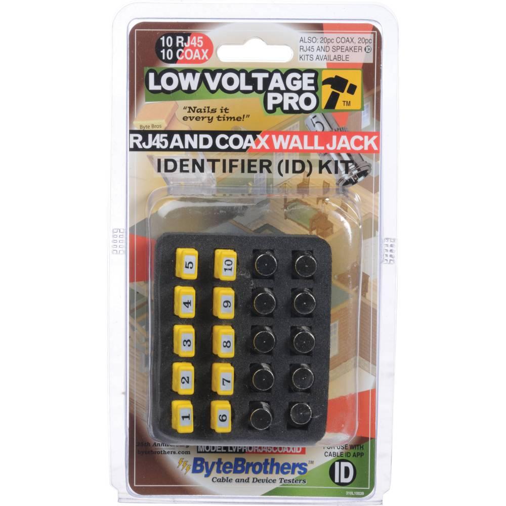 medium resolution of byte brothers 20 piece rj45coax wall jack mapper kit