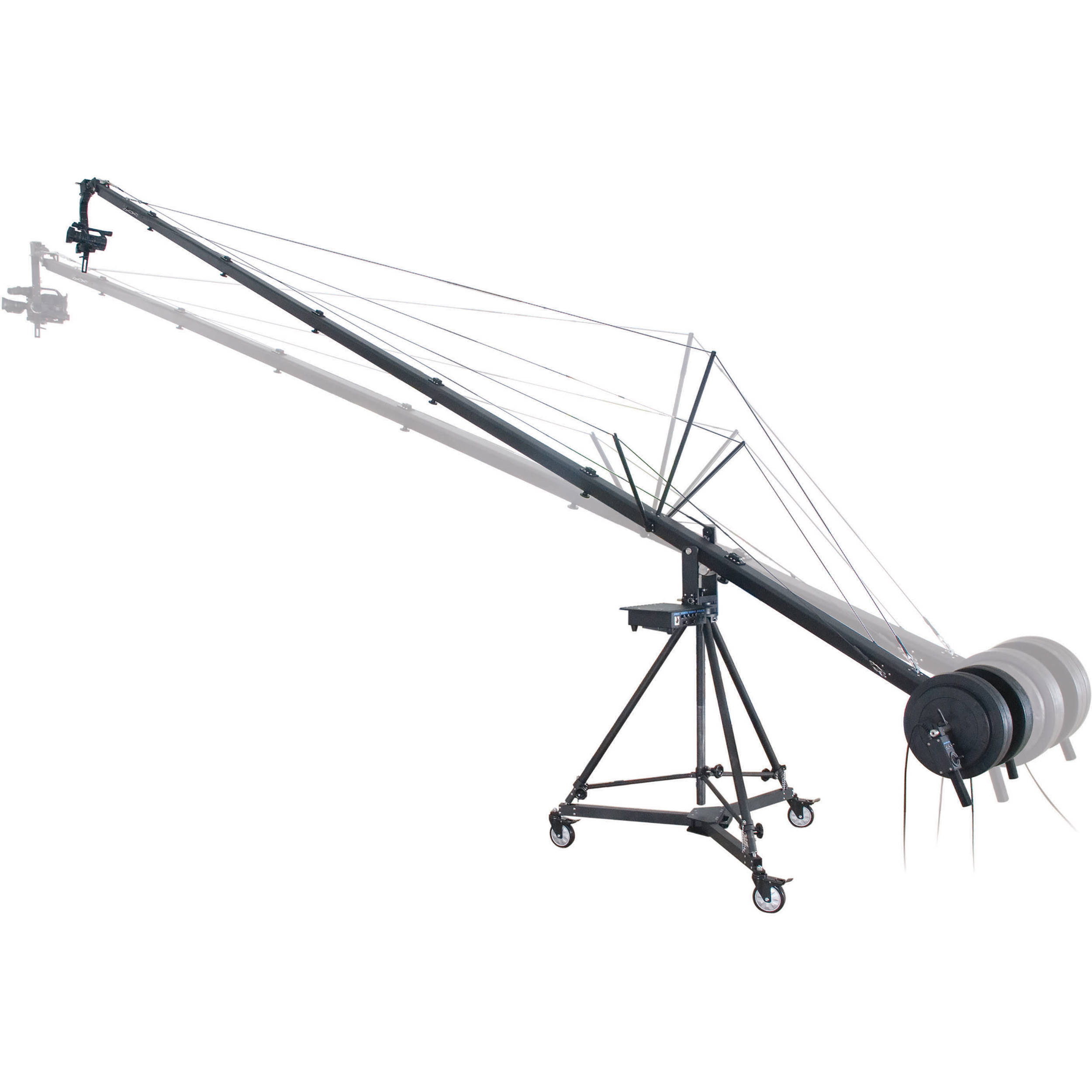 Secced 6m Travelling Crane For Dv Camcorders 3 065 B Amp H Photo