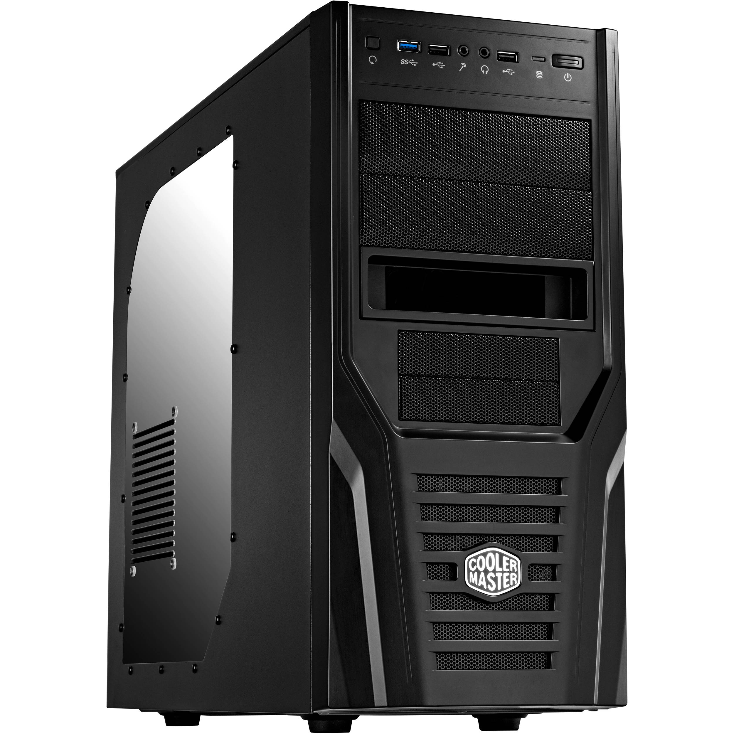 Cooler Master Elite 431 Plus Mid Tower Computer Case