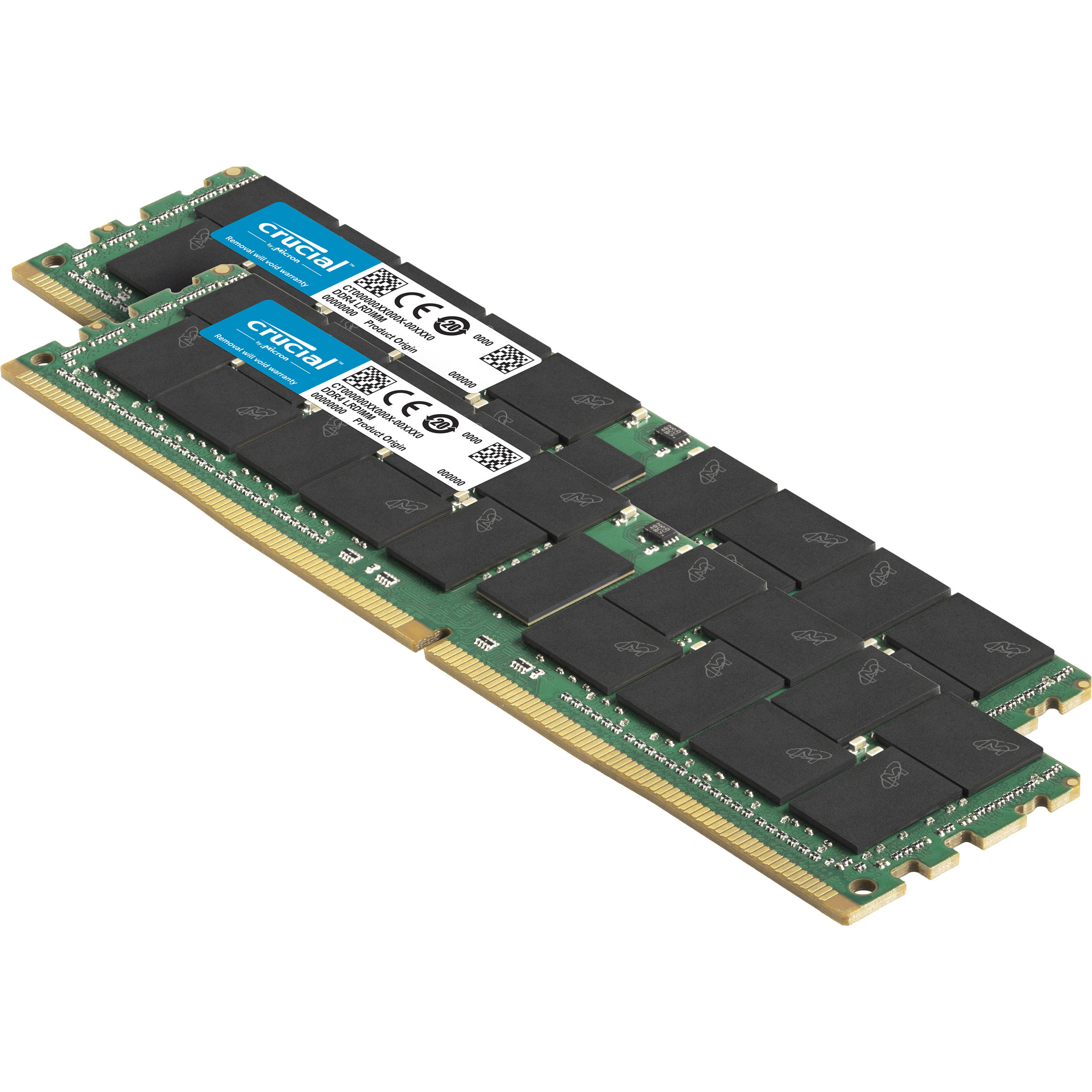 Crucial 128GB DDR4 2666 MHz LR-DIMM Memory Module CT128G4ZFE426S